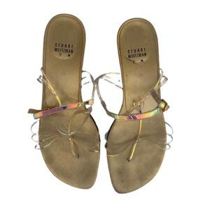 Stuart Weitzman Gold Sandal